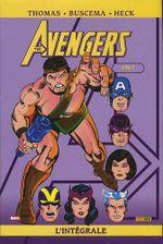 Couverture 1967 - The Avengers : L'Intégrale, tome 4