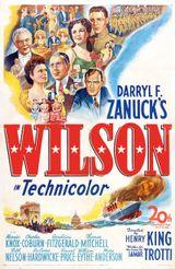 Affiche Le Président Wilson