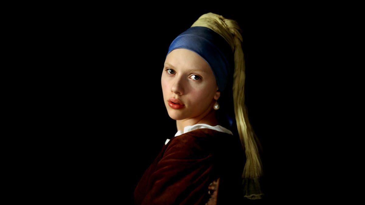 """Résultat de recherche d'images pour """"la jeune fille à la perle scarlett johansson"""""""