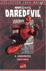 Couverture Underboss - Daredevil (100 % Marvel), tome 4
