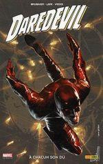 Couverture A chacun son dû - Daredevil (100 % Marvel), tome 16