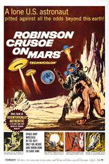 Affiche Robinson Crusoé sur Mars