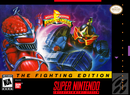 Jaquette Mighty Morphin' Power Rangers - Fighting Edition