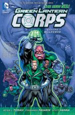 Couverture Willpower - Green Lantern Corps, tome 3
