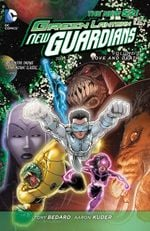 Couverture Love and Death - Green Lantern: New Guardians, tome 3