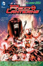 Couverture The Second Prophecy - Red Lanterns, tome 3