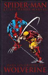 Couverture Dans les griffes de Wolverine - Spider-Man et les héros Marvel, tome 1
