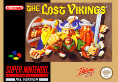 Jaquette The Lost Vikings