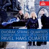 "Pochette String Quartets: G major, op. 106 / F major, op. 96 ""American"""