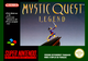Jaquette Mystic Quest Legend