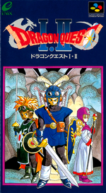 Jaquette Dragon Quest I.II
