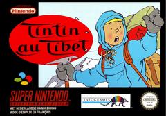 Jaquette Tintin au Tibet