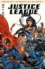 Couverture Justice League Saga, tome 8