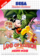 Jaquette Land of Illusion Starring Mickey Mouse