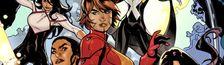 "Cover Chronologie ""Adjectiveless"" X-Men (VO)"