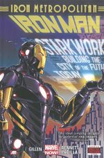 Couverture Iron Metropolitan - Iron Man (2013), tome 4