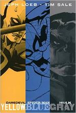 Couverture Jeph Loeb & Tim Sale: Yellow, Blue and Gray