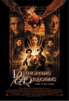 Affiche Donjons & Dragons