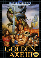 Jaquette Golden Axe III