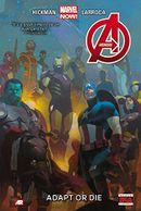 Couverture Avengers (2013), tome 5