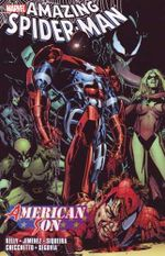 Couverture The Amazing Spider-Man: American Son