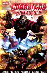 Couverture Guardians of the Galaxy by Abnett & Lanning : The Complete Collection, Volume 1