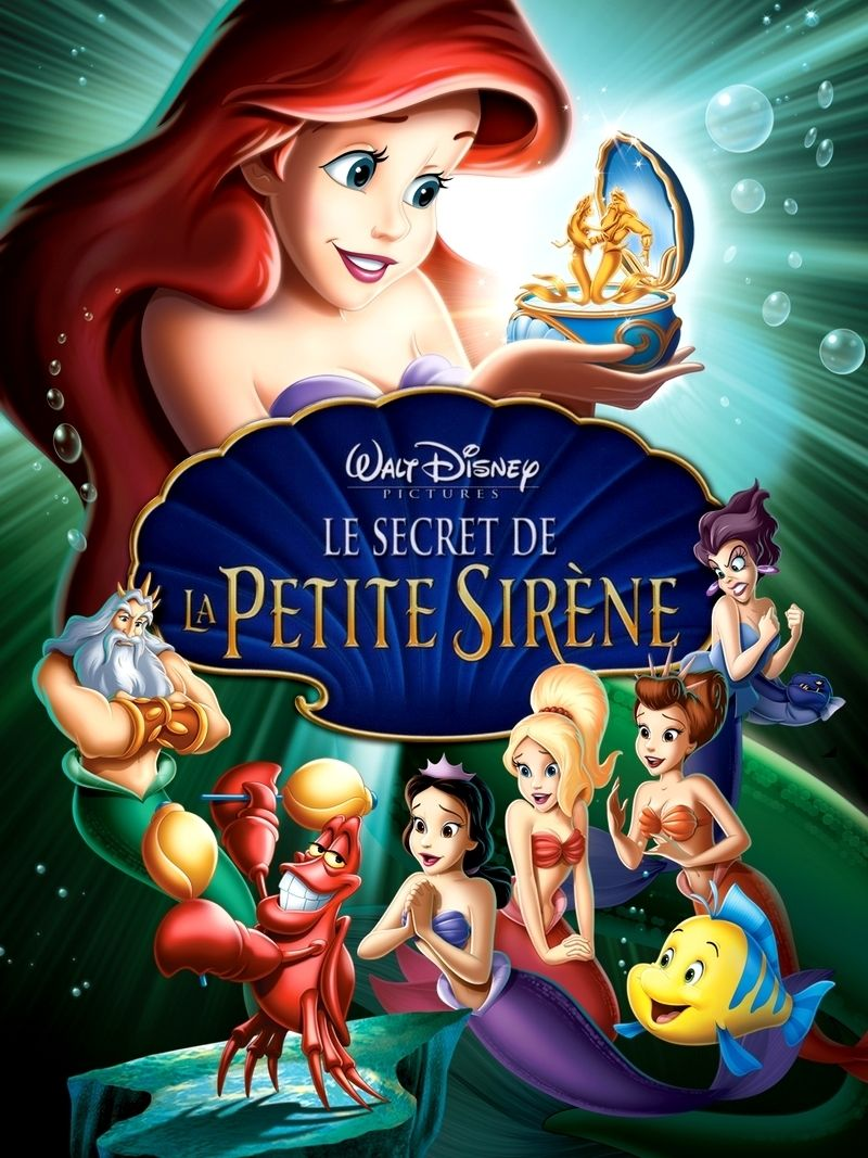 Le secret de la petite sir ne long m trage d 39 animation - Le secret des sirene ...