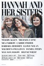 Affiche Hannah et ses sœurs