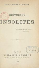 Couverture Histoires Insolites