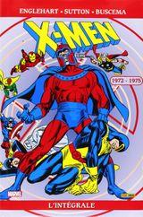 Couverture 1972-1975 - X-Men : L'Intégrale, tome 23