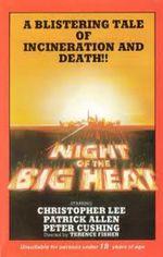 Affiche La nuit de la grande chaleur