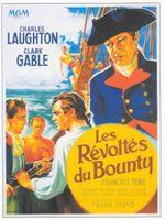 Affiche Les Révoltés du Bounty