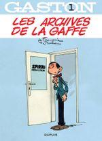 Couverture Les archives de la gaffe - Gaston (2009), tome 1
