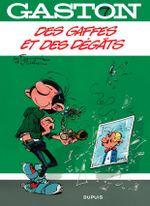 Couverture Des gaffes et des dégâts - Gaston (2009), tome 7