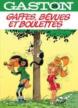 Couverture Gaffes, bévues et boulettes - Gaston (2009), tome 14
