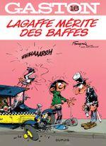 Couverture Lagaffe mérite des baffes - Gaston, tome 16