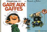 Couverture Gare aux gaffes - Gaston (première série), tome 1