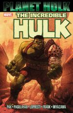Couverture The Incredible Hulk: Planet Hulk