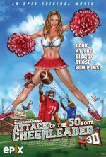 Affiche Attack of the 50ft Cheerleader