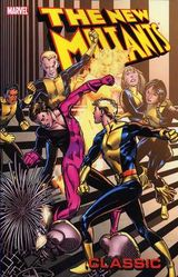Couverture New Mutants Classic, Volume 6