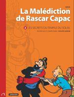 Couverture La malédiction de Rascar Capac, tome 2 : Les secrets du temple du Soleil