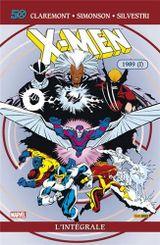 Couverture 1989 (Partie 1) - X-Men : L'Intégrale, tome 24