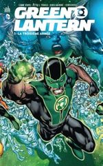 Couverture La Troisième Armée - Green Lantern, tome 3