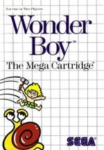 Jaquette Wonder Boy
