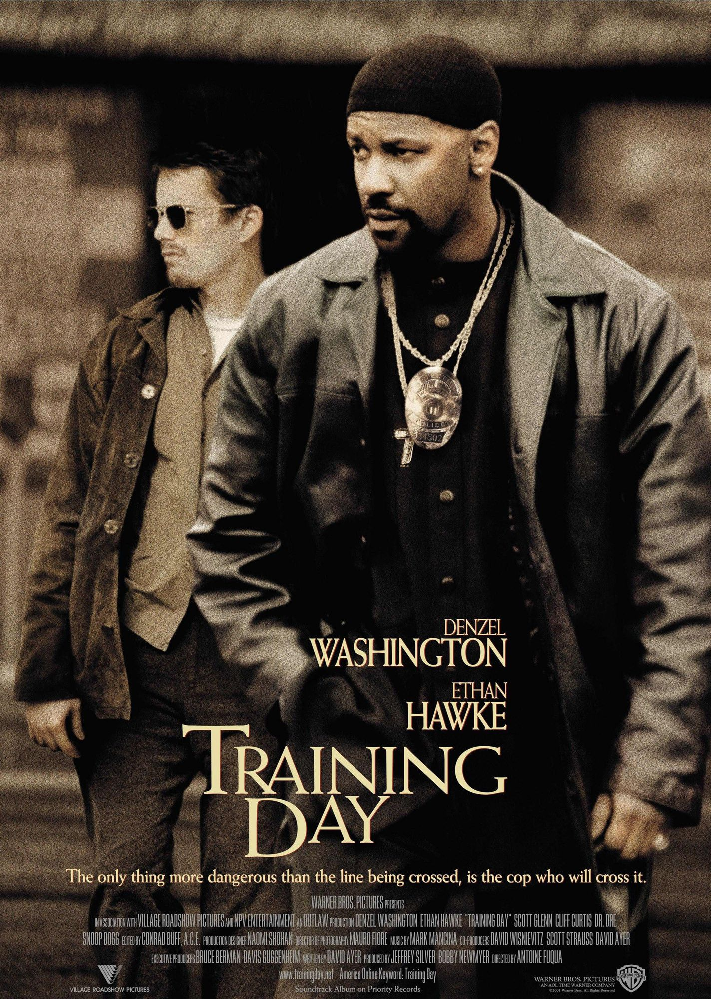 training day film critique When fresh-faced rookie jake, played by ethan hawke, gets a training day with  alonzo, he realises that the accommodations his boss is making with  the  equalizer review – denzel washington: ordinary guy, cool killer.