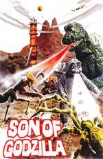 Affiche Le Fils de Godzilla