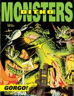 Couverture Steve Ditko's Monsters Volume 1: Gorgo