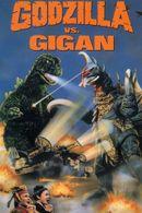 Affiche Godzilla contre Gigan