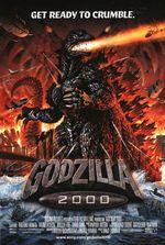 Affiche Godzilla 2000