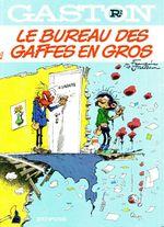 Couverture Le Bureau des gaffes en gros - Gaston (première série), tome R2